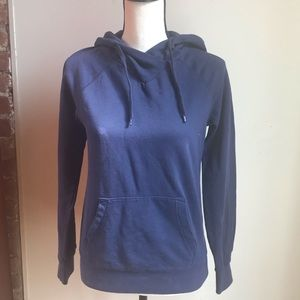 Dark Blue Hoodie By Divided From H&M